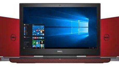 Notebook Dell Inspiron 15 Gaming 7000 (7566) (N-7566-N2-712R) červený Software F-Secure SAFE 6 měsíců pro 3 zařízení (zdarma)Monitorovací software Pinya Guard - licence na 6 měsíců (zdarma) + Doprava zdarma