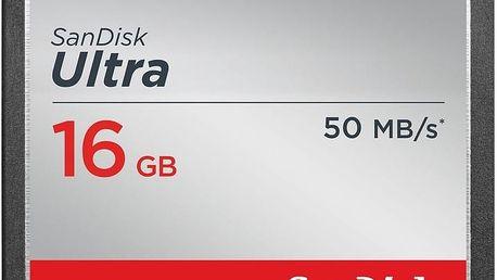 SanDisk CompactFlash Ultra 16GB 50MB/s - SDCFHS-016G-G46
