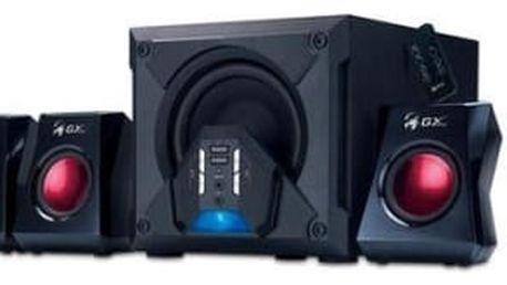 Reproduktory Genius SW-G5.1 3500 (31731017100) černá/červená