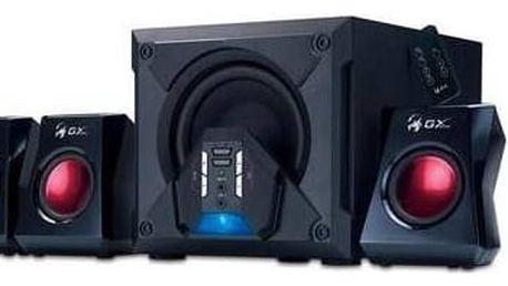 Reproduktory Genius GX Gaming SW-G5.1 3500 (31731017100) černá/červená