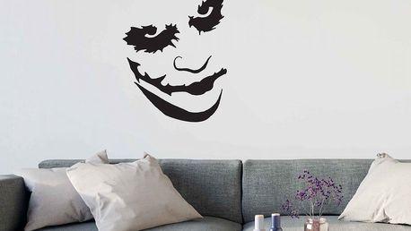 GLIX Joker - samolepka na zeď Černá 60 x 80 cm