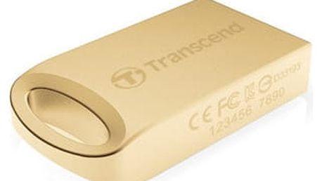 Transcend JetFlash 510G 8GB, zlatá - TS8GJF510G