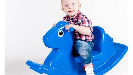 Little Tikes 4279 Houpací koník modrý