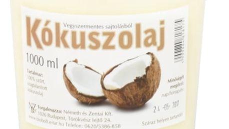 NATURECOOKTA Kokosový olej 1000 ml