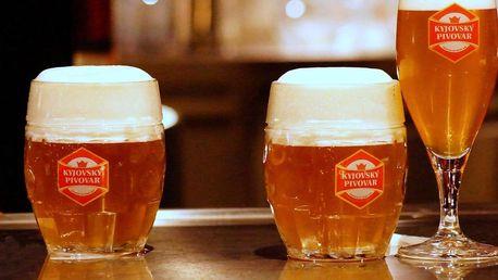 Léto v Kyjovském pivovaru s polopenzí i neomezenou konzumací piva