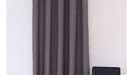 Dekorační závěs 10 tmavě šedá 160x250 cm MyBestHome Varianta: závěsy - 2 kusy 160x250 cm