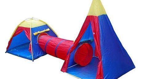 Stan dětský Acra ST10 set červený/modrý/žlutý