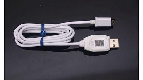 Nabíjecí USB kabel s indikátorem napětí a proudu - dodání do 2 dnů