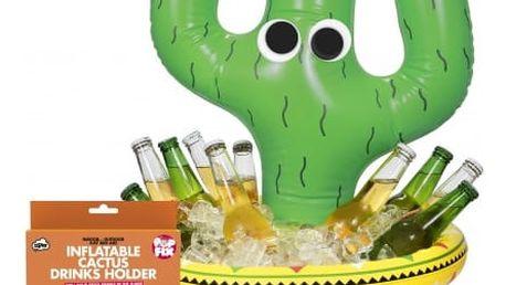 Nafukovací kaktus na chlazení nápojů