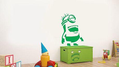 GLIX Mimoň - samolepka na zeď Světle zelená 20 x 30 cm
