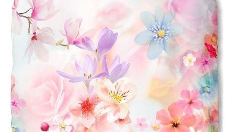 Růžové bavlněné povlečení Muller Textiel Descanso, 140 x 200 cm - doprava zdarma!