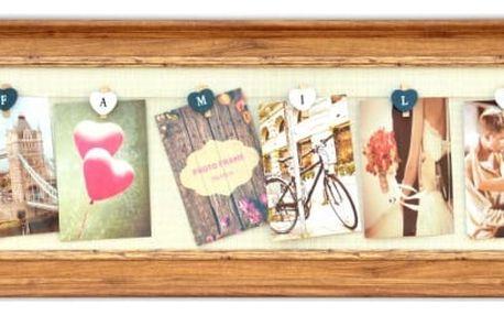 Fotorámeček na 6 fotografií Memories
