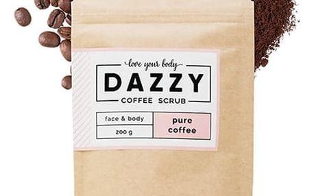 DAZZY Kávový peeling 200 g