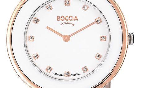 Boccia Titanium 3209-04 + pojištění hodinek, doprava ZDARMA, záruka 3 roky