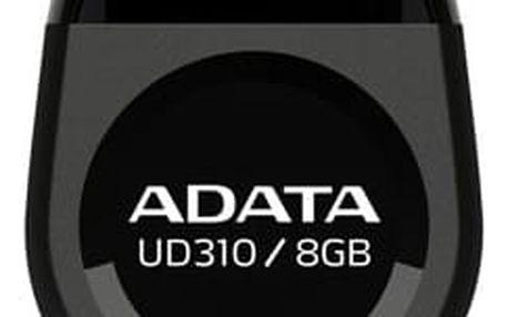 ADATA UD310 8GB, černá - AUD310-8G-RBK