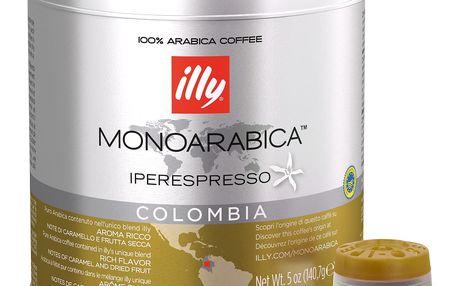 Kávové kapsle Monoarabica Colombia Illy 21 ks