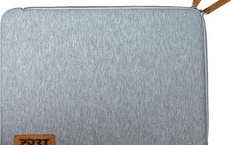 """Port Designs TORINO pouzdro na 13,3/14"""", šedá - 140384 + Zdarma RP0292 PORT CONNECT Naos, bezdrátová myš, černá (v ceně 259)"""
