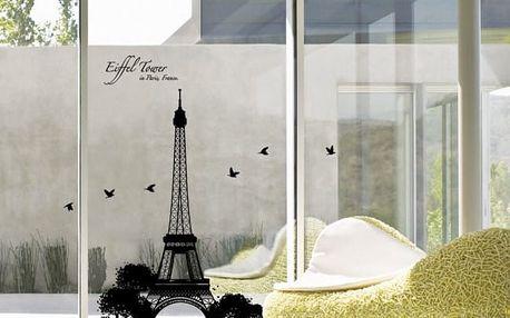 Samolepka Ambiance Eiffel Tower - doprava zdarma!
