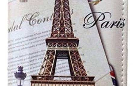 Dámská vintage peněženka s francouzskými motivy - 7 variant