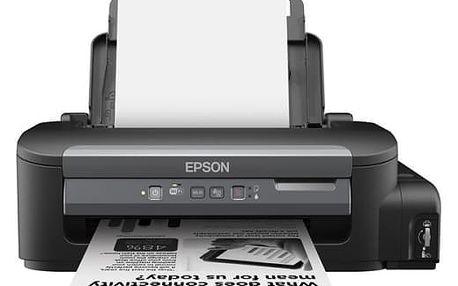 Tiskárna inkoustová Epson M105, CIS (C11CC85301) černá A4, 37str./min, 1440 x 720, WF, USB