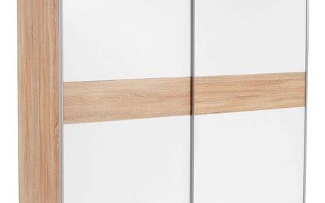 Skříň s posuvnými dveřmi basic *cenový trhák*, 170/195/60 cm