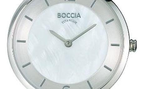 Boccia Titanium 3244-01 + pojištění hodinek, doprava ZDARMA, záruka 3 roky