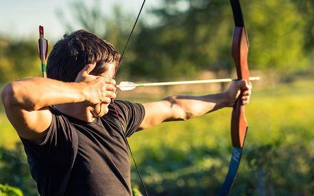 2hodinový kurz sportovní lukostřelby