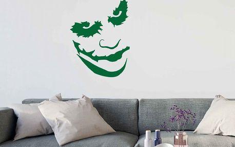 GLIX Joker - samolepka na zeď Světle zelená 35 x 45 cm
