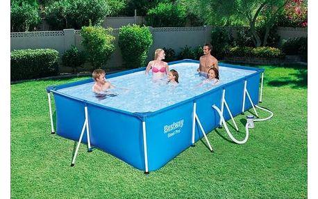 Bazén Bestway Steel Frame Pool 400 x 211 x 81 cm, 56424
