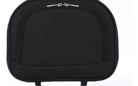 Černé příruční zavazadlo Les P'tites Bombes - doprava zdarma!