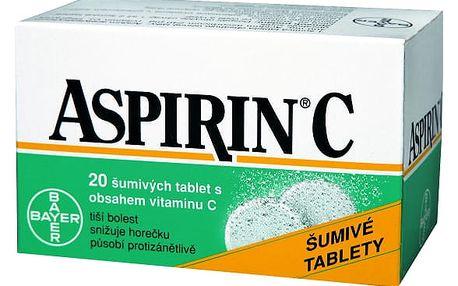 ASPIRIN C FORTE ŠUMIVÉ TABLETY POR TBL EFF 20