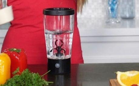 Automatický mixér na shake a koktejly