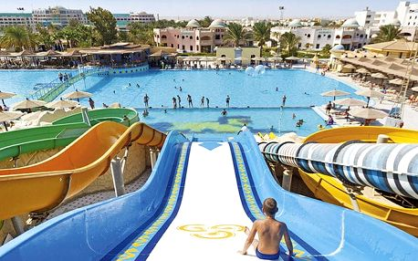 Hotel Diamond Resort & Aquapark, Hurghada, Egypt, letecky, all inclusive