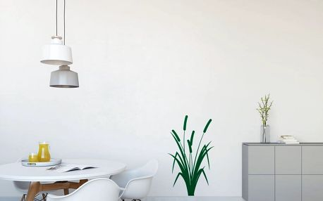 GLIX Rákos - samolepka na zeď Světle zelená 60 x 100 cm