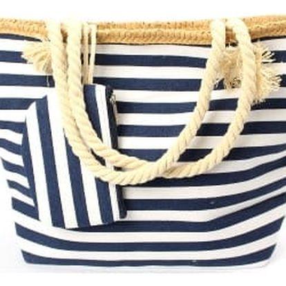 Velká námořnická plážová taška