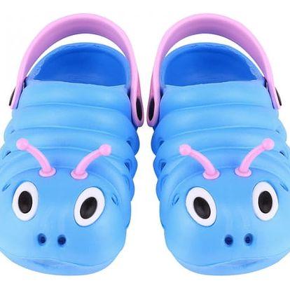 Letní gumové sandály pro děti