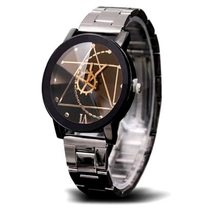 Pánské geometrické hodinky