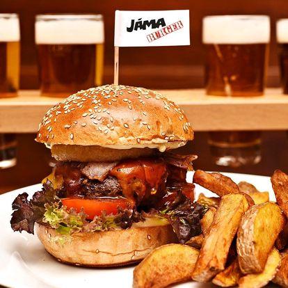 Famózní burger a ochutnávka 6 českých piv