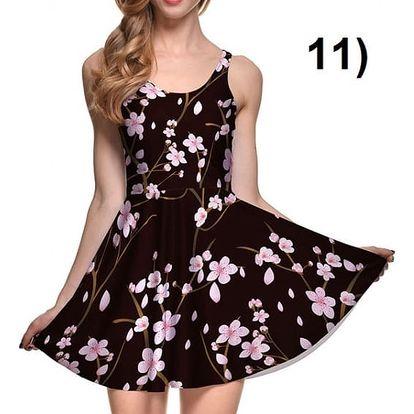 Pohádkové letní šaty - model 11, velikost 6