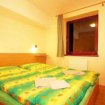 3–4denní pobyt pro 2 se snídaněmi a možností wellness v penzionu Prameň