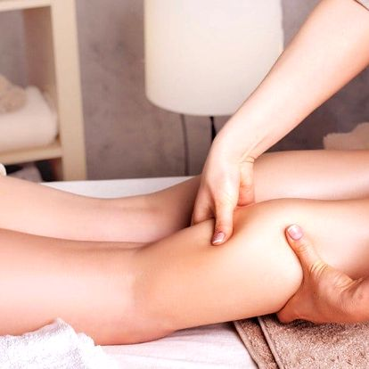 Relaxační masáž nebo manuální lymfodrenáž