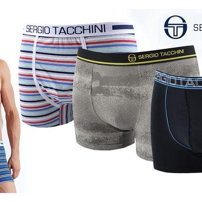 Pánské značkové boxerky Sergio Tacchini