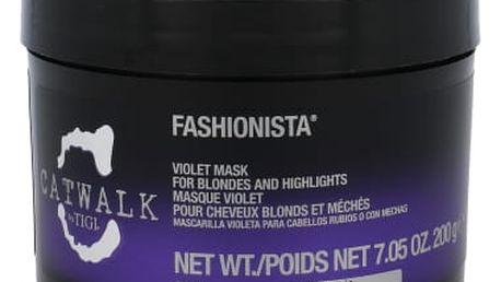 Tigi Catwalk Fashionista Violet 200 g maska na vlasy pro ženy