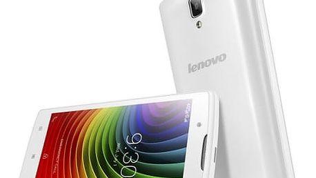 Mobilní telefon Lenovo A2010 Single SIM LTE (PA1J0082CZ) bílý