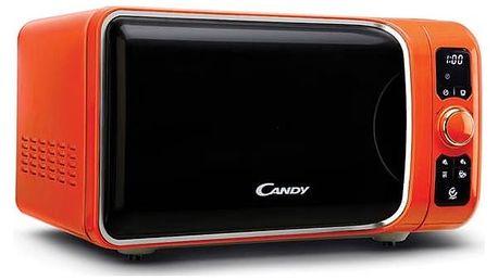 Mikrovlnná trouba Candy EGO EGO-G 25D CO oranžová + Doprava zdarma