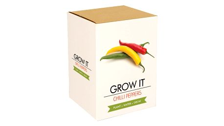 Pěstitelský set Gift Republic Chilli Peppers