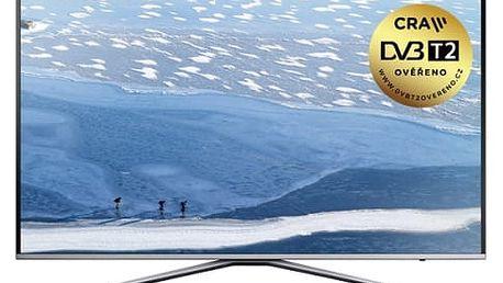 Televize Samsung UE43KU6402 stříbrná