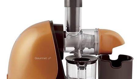 Odšťavňovač G21 Horizontal Gourmet oranžový + Doprava zdarma