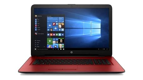 Notebook HP 17-y003nc (F5B73EA#BCM) červený Monitorovací software Pinya Guard - licence na 6 měsíců (zdarma)Software F-Secure SAFE 6 měsíců pro 3 zařízení (zdarma) + Doprava zdarma