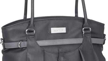 BABYMOOV Přebalovací taška s podložkou Glitter Bag - Black